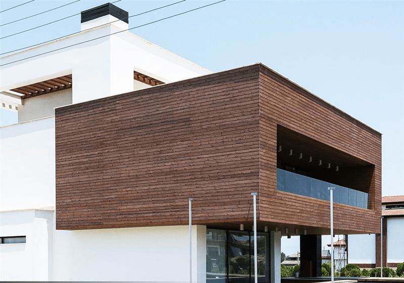 زیبایی نمای ساختمان