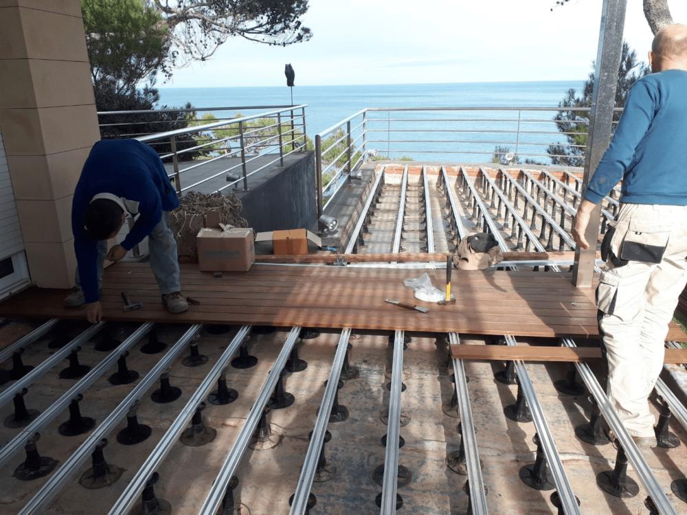 نکات اجرایی چوب در نمای ساختمان