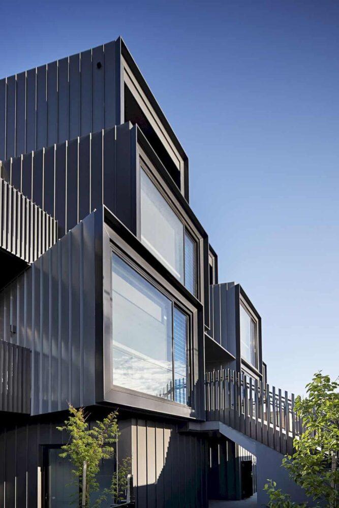 متریال مناسب طراحی نمای ساختمان مسکونی آریاز دیزاین