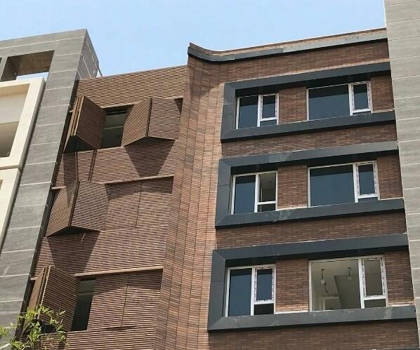 نمای ساختمان در مناطق کوهستانی