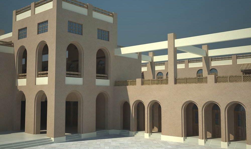 نمای متناسب با اقلیم در معماری ایرانی