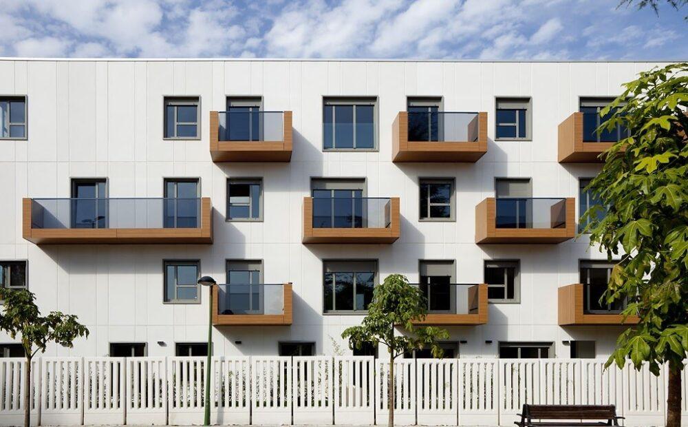 کاربرد تراس در نمای ساختمان