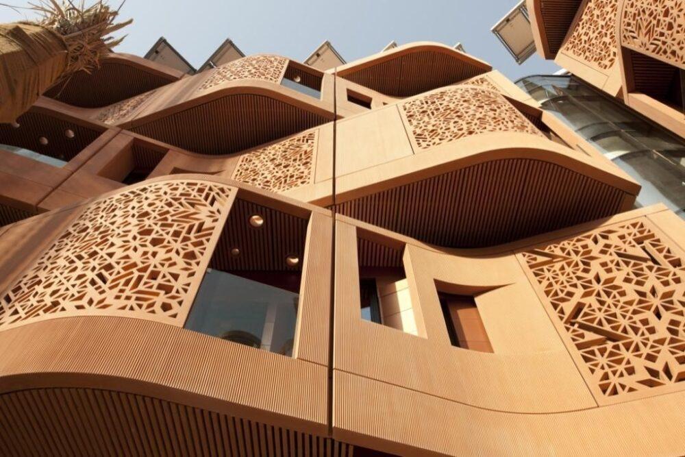 نوع مصالح به کار رفته در معماری ایرانی
