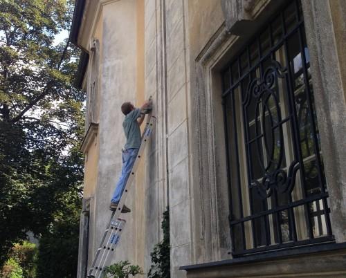 نگهداری از نمای ساختمان سیمانی