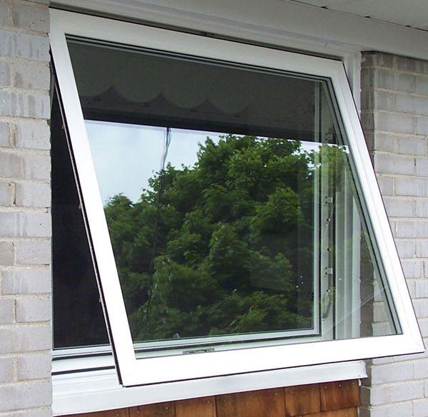 پنجره سایبانی