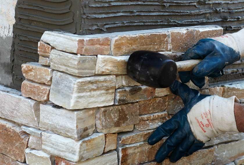 مراحل سنگ کاری نمای ساختمان
