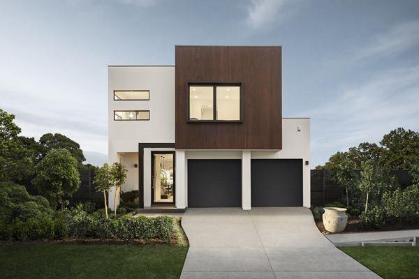 طراحی نمای ساختمان ساده آریاز دیزاین