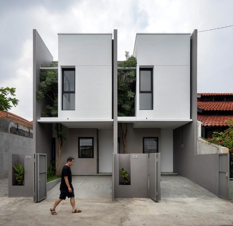 طراحی مینیمال یک ساختمان ساده آریاز دیزاین