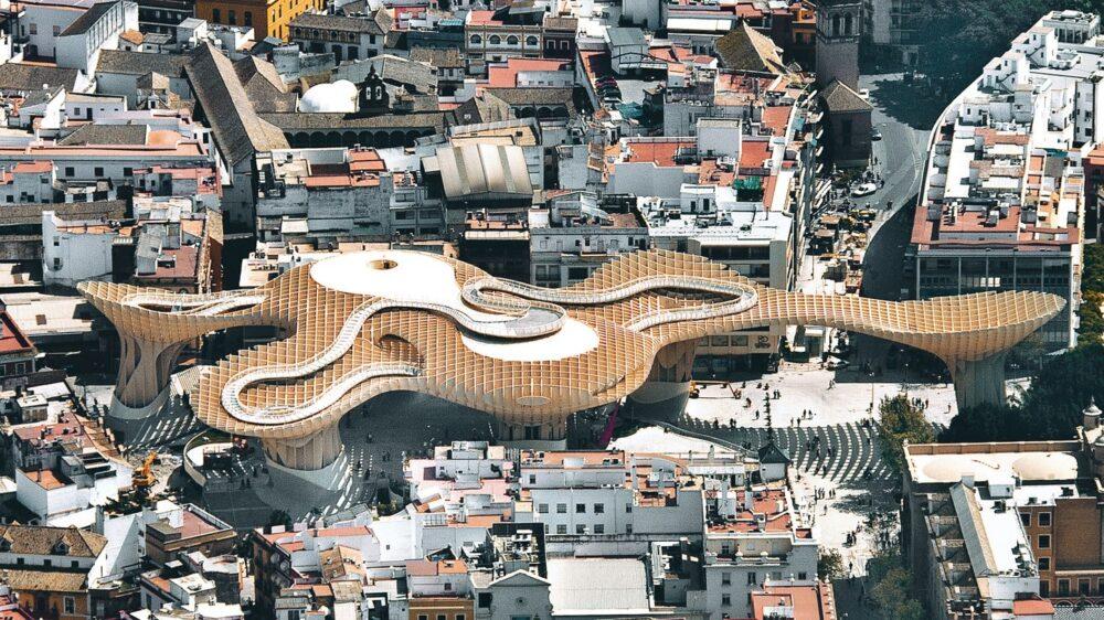 بهترین ساختمان های طراحی شده در جهان-متروپول پاراسول (Metropol Parasol) - آریاز دیزاین