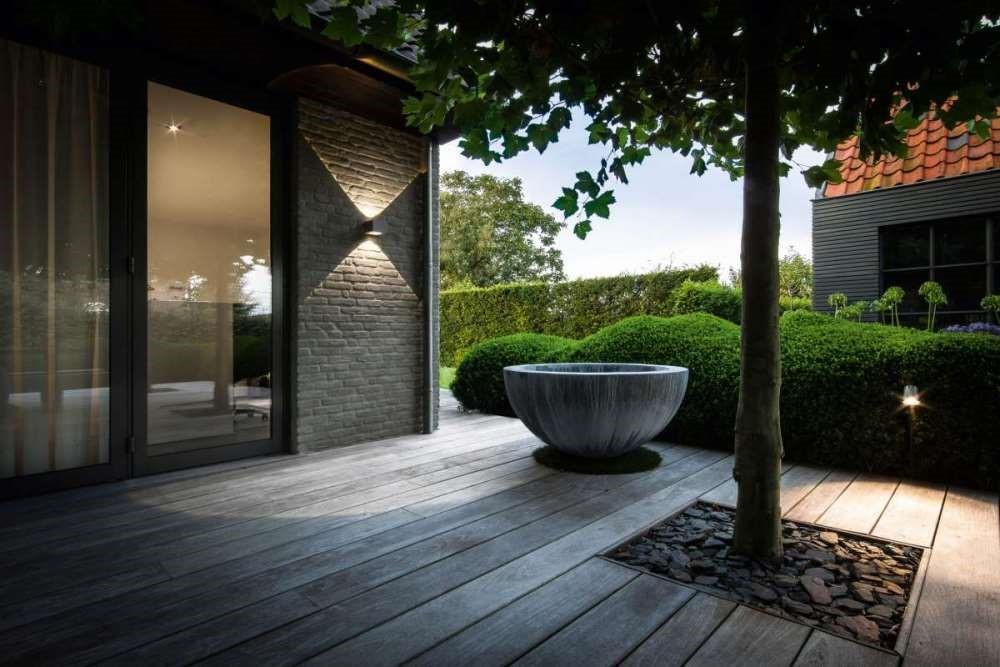 تنظیم شدت نور نمای ساختمان-آریاز دیزاین