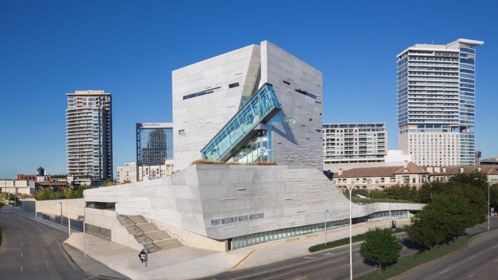 بهترین ساختمان های طراحی شده در جهان-موزه طبیعت و علوم پرووت - آریاز دیزاین