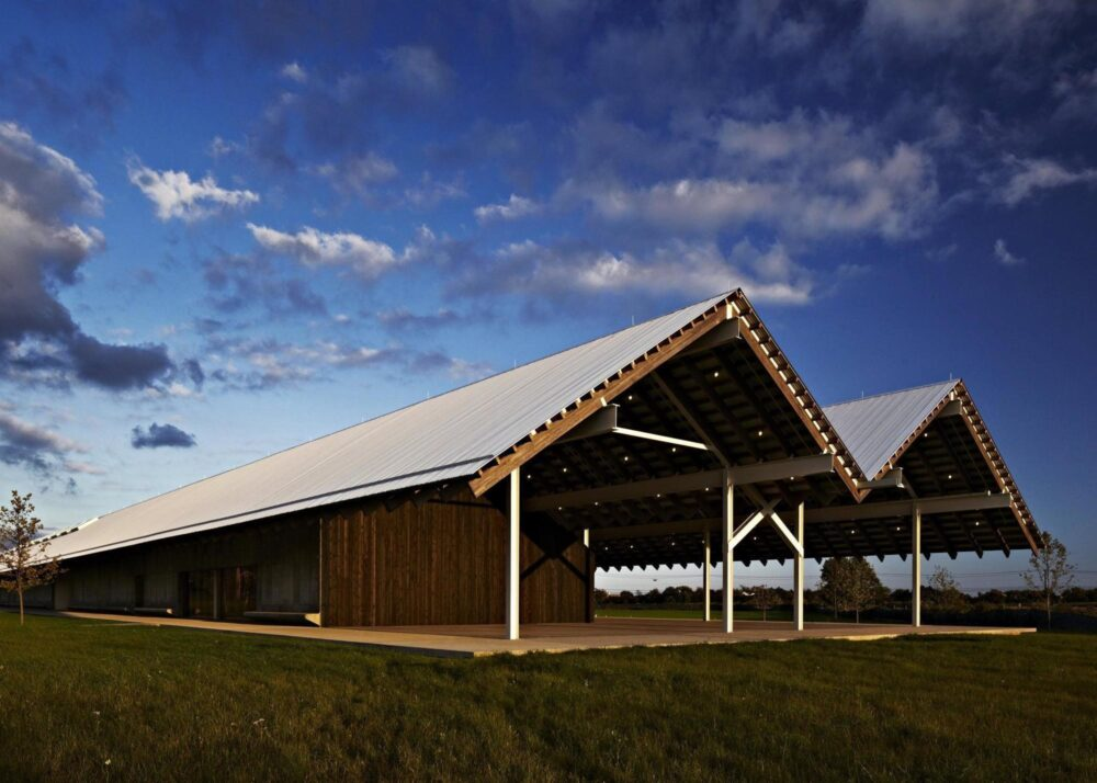 بهترین ساختمان های طراحی شده در جهان-موزه هنر پریش -آریاز دیزاین