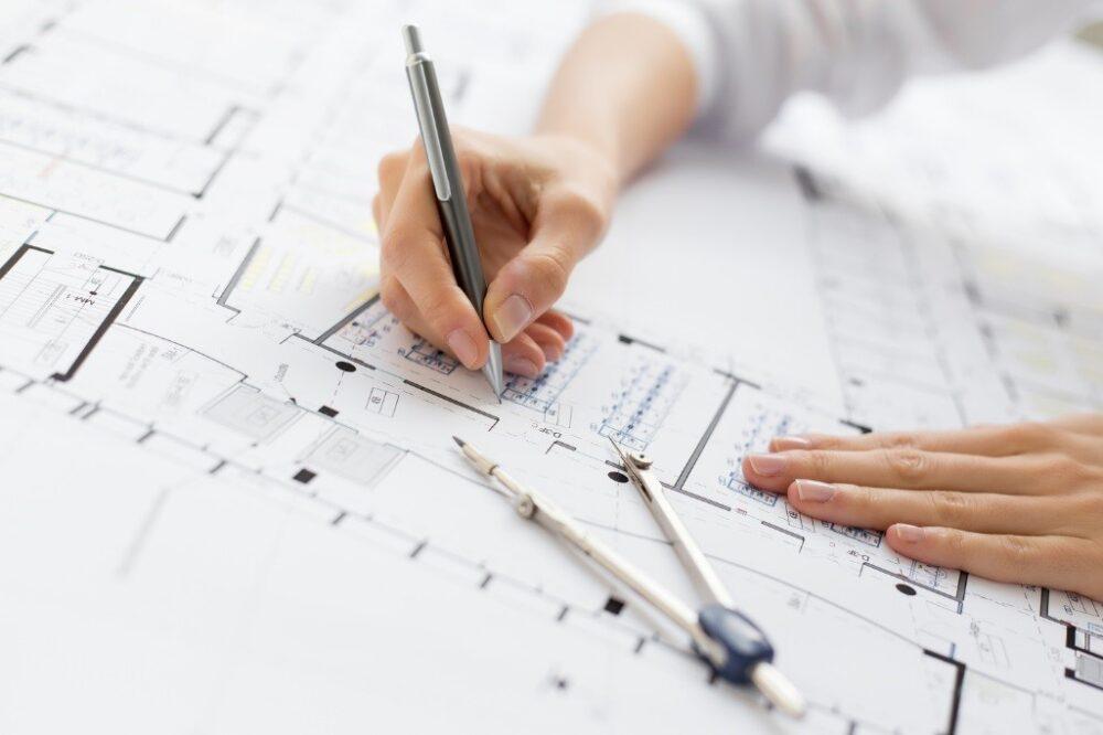 مراحل ساختمان سازی-تهیه پلان اولین مرحله اجرایی در ساخت سازه-آریاز دیزاین
