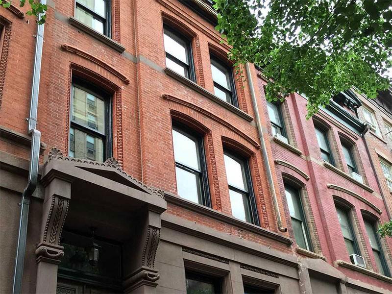نمای ساختمان آجری-آریاز دیزاین