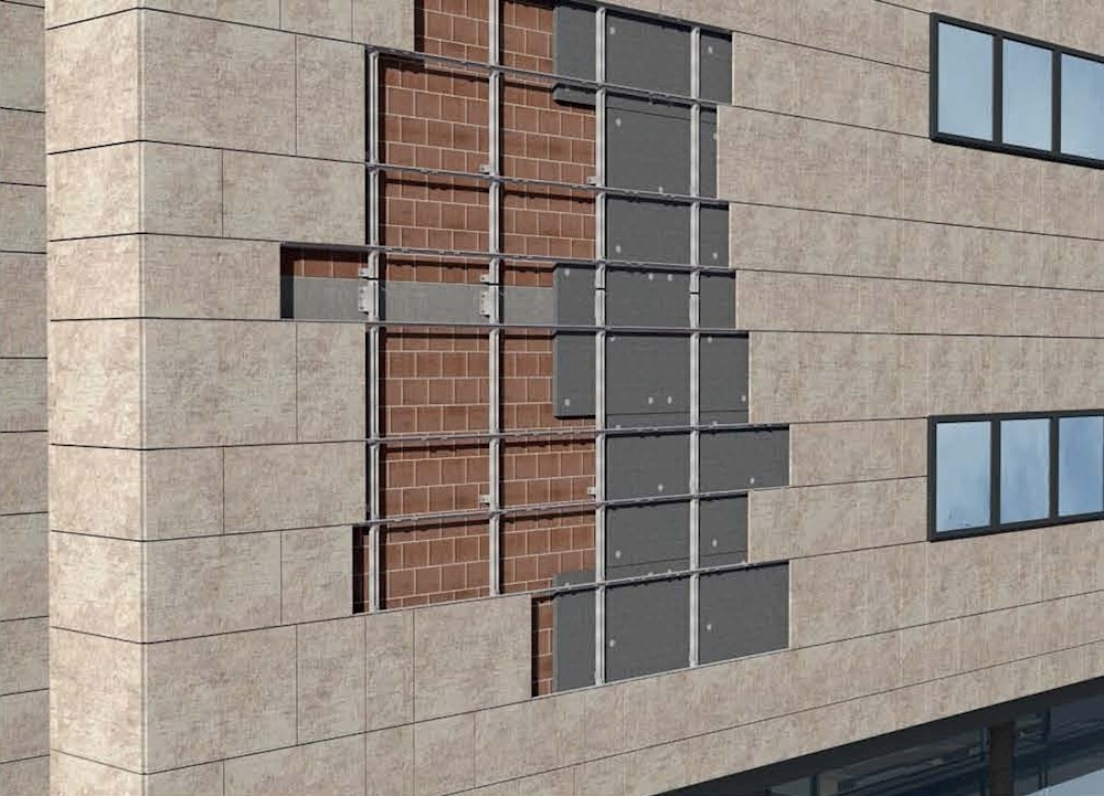 نمای ساختمان - نمای خشک - آریاز دیزاین