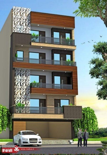 خلاقیت در طراحی نمای ساختمان مدرن-آریاز دیزاین