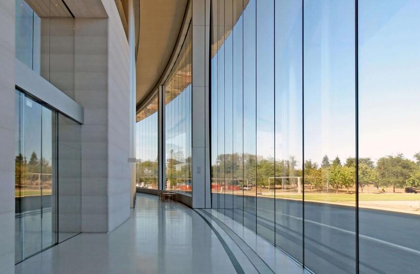 طراحی نمای شیشه ای ساختمان-آریاز دیزاین